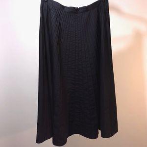 Lauren Ralph Lauren Black Midi Skirt